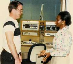 In the early '80s Eddie Burns was hired at 1010WINS where he worked until he retired in 2006.