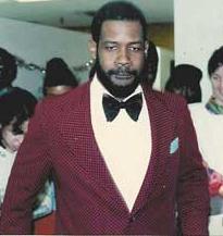 Robert Jenkins circa 1980 at a Job Path party. Robert  never misses a holiday party.