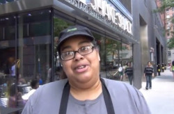 Annette Feliciano at Shake Shack