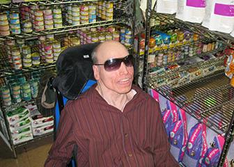 Jack Callaghan at work at Metropets/PetsNYC.