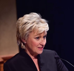 Co-host Tina Brown at our 2014 Annual Benefit.