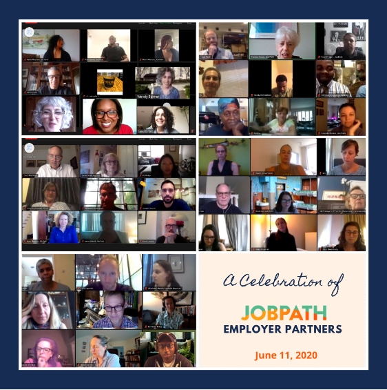 A Celebration of Job Path Employer Partners, June 11, 2020 on Zoom