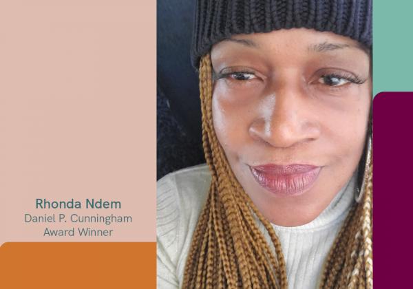 Winner of the Daniel P. Cunningham Award 2020: Rhonda Ndem